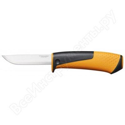 Нож Fiskars с точилкой