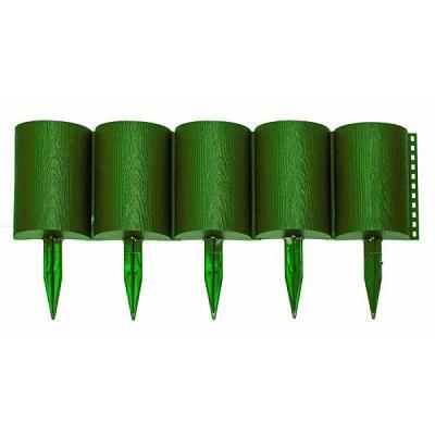 Заборчик Бревнышко зеленый