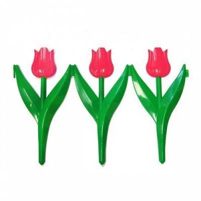 Заборчик Тюльпан красный