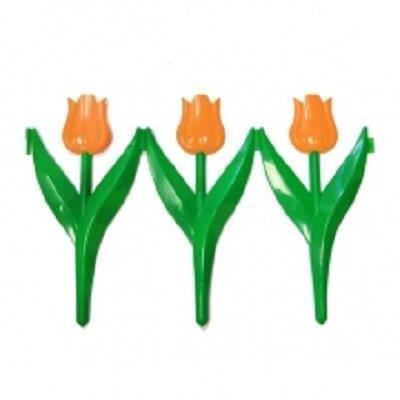 Заборчик Тюльпан оранжевый